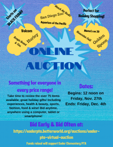 Eader Online Auction goes LIVE!!